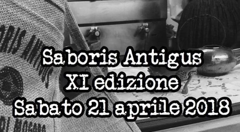 Saboris Antigus a Mogoro, ecco il programma del 21 Aprile 2018