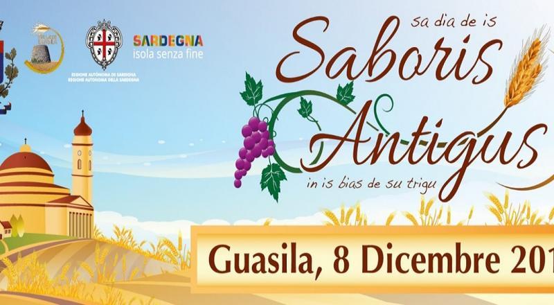 Saboris Antigus a Guasila, programma 8 Dicembre 2019