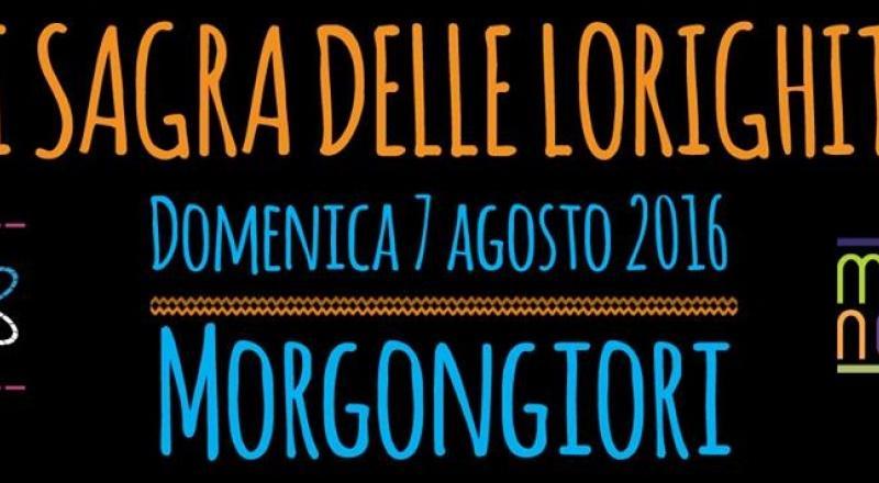 Sagra delle Lorighittas di Morgongiori, ecco il programma dell'evento di Domenica 6 Agosto 2017