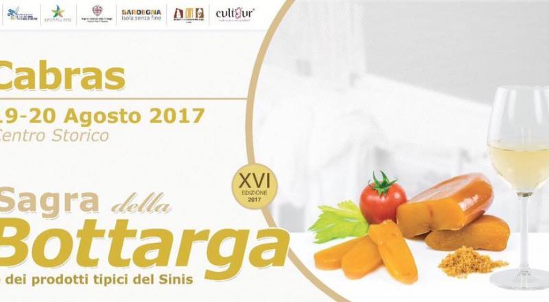 Sagra della Bottarga di Cabras, ecco il programma dell'evento del 19 e 20 Agosto 2017