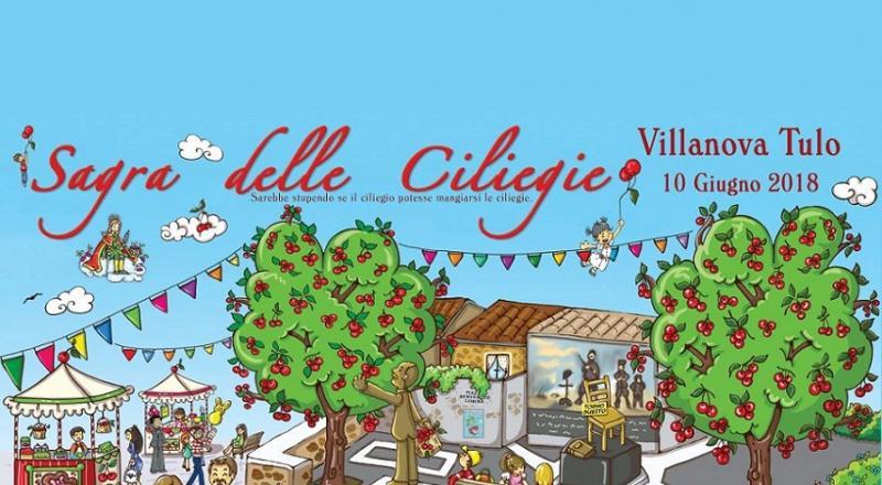 Sagra delle Ciliegie 2018 Villanova Tulo, ecco il programma del 9 e 10 Giugno 2018