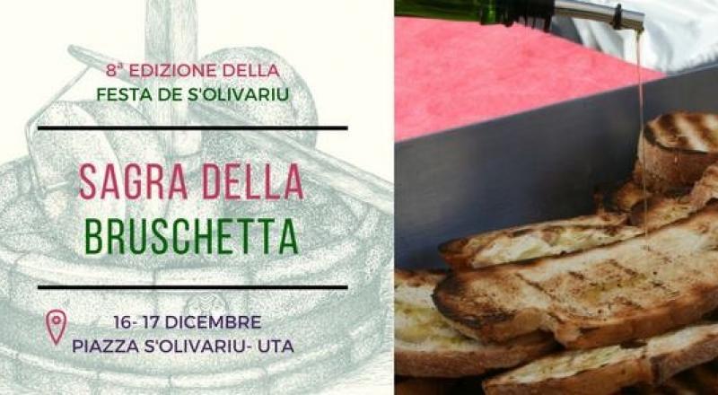 Sagra della Bruschetta a Uta, ecco l'evento del 16 Dicembre 2017 nel sud Sardegna
