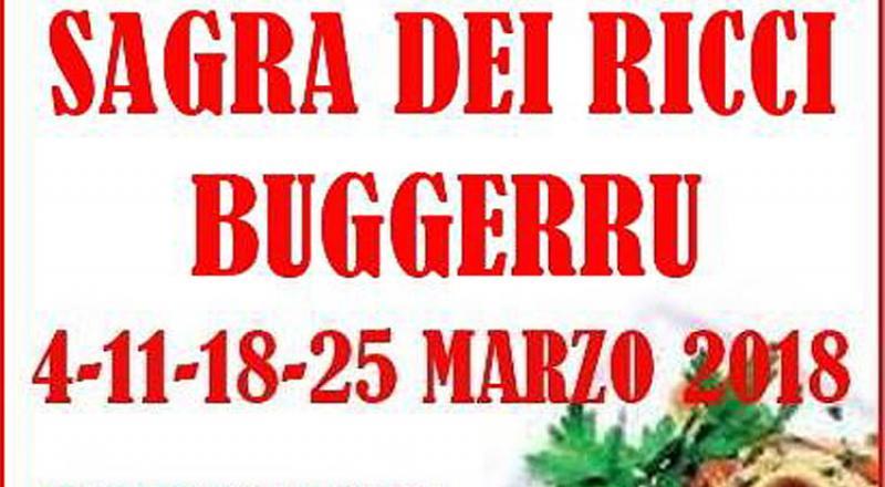 Sagra dei Ricci a Buggerru, ecco i programmi del 4, 11, 18 e 25 Marzo 2018
