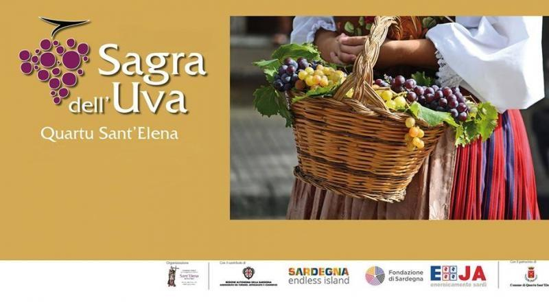 Sagra dell'Uva 2018 di Quartu Sant'Elena, ecco il programma dell'evento dal 10 al 23 Settembre