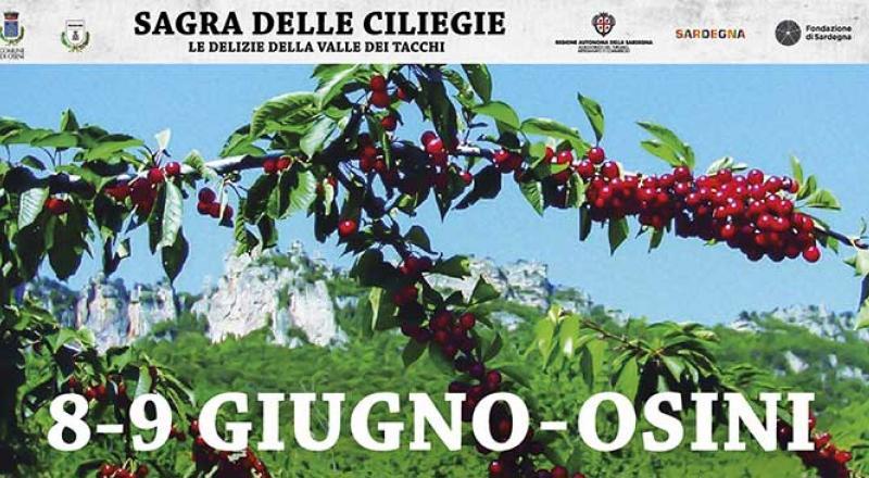 Sagra delle ciliegie di Osini, programma 2019!