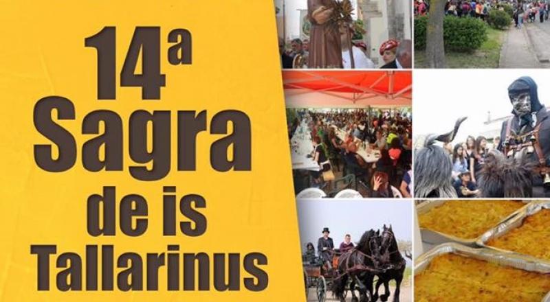 Sagra de Is Tallarinus 2019, programma del 19 maggio a Nuragus