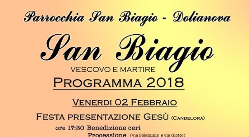 Festa della Candelora e di San Biagio a Dolianova, l'evento del 3 Febbraio 2018