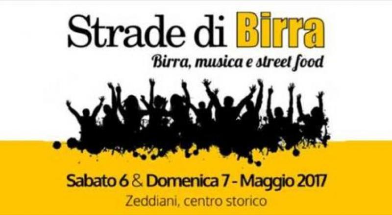 Strade di Birra a Zeddiani, ecco il programma completo del 6 e 7 Maggio 2017