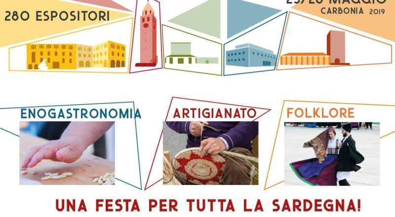 Il Sulcis Iglesiente espone 2019, Carbonia 25 e 26 Maggio