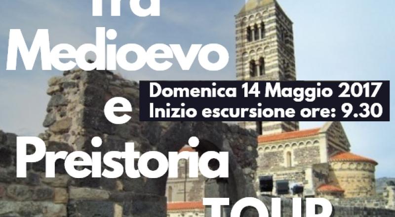 Tour tra Medioevo e Preistoria, Domenica 14 Maggio 2017
