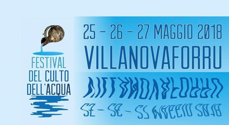Festival del culto dell'Acqua a Villanovaforru, ecco il programma del 25 26 e 27 Maggio 2018