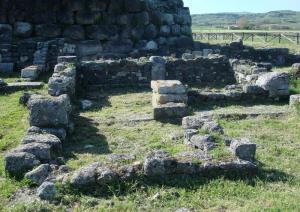 Nuraghe Santu Antine - villaggio romano