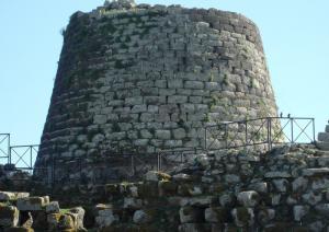 Nuraghe Santu Antine - torre centrale