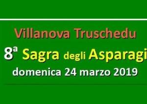 Sagra degli asparagi 2019 Villanova Truschedu, scopri il programma!
