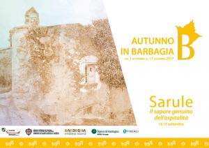 Autunno in Barbagia 2020 a Sarule, programma