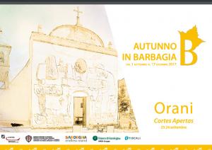 Autunno in Barbagia 2019 a Orani, programma del 21 e 22 settembre