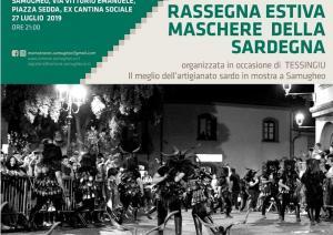Rassegna estiva Maschere di Sardegna a Samugheo, 27 luglio 2019