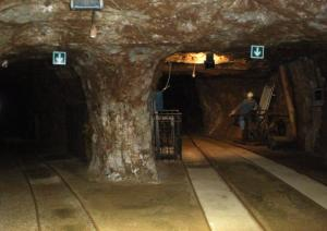 Porto Flavia - interno della galleria