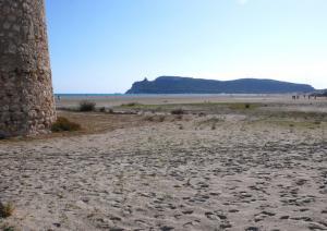 Poetto - la sella del diavolo vista dalla torre spagnola