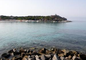 Punta Molentis - scogliera