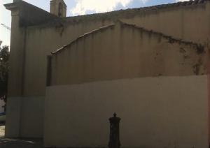 Lato Chiesa di Santa Rosalia - Pirri