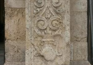 Particolare colonna esterna