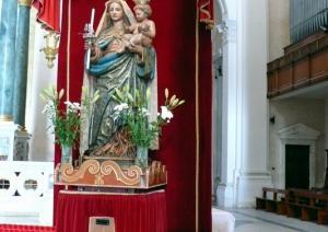 Statua della Madonna di Bonaria