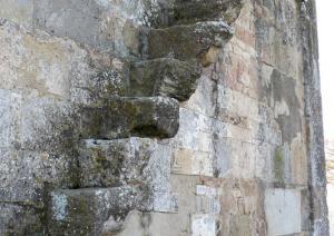 Chiesa di San Platano - scalette