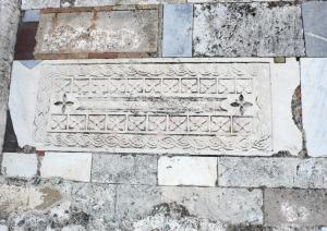 Chiesa di San Platano - Architrave in marmo