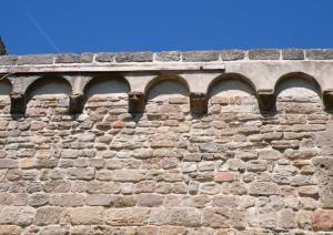 Chiesa di Santa Maria di Sibiola - archetti