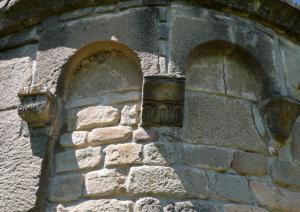 Chiesa di Santa Maria di Sibiola - particolare dell'abside